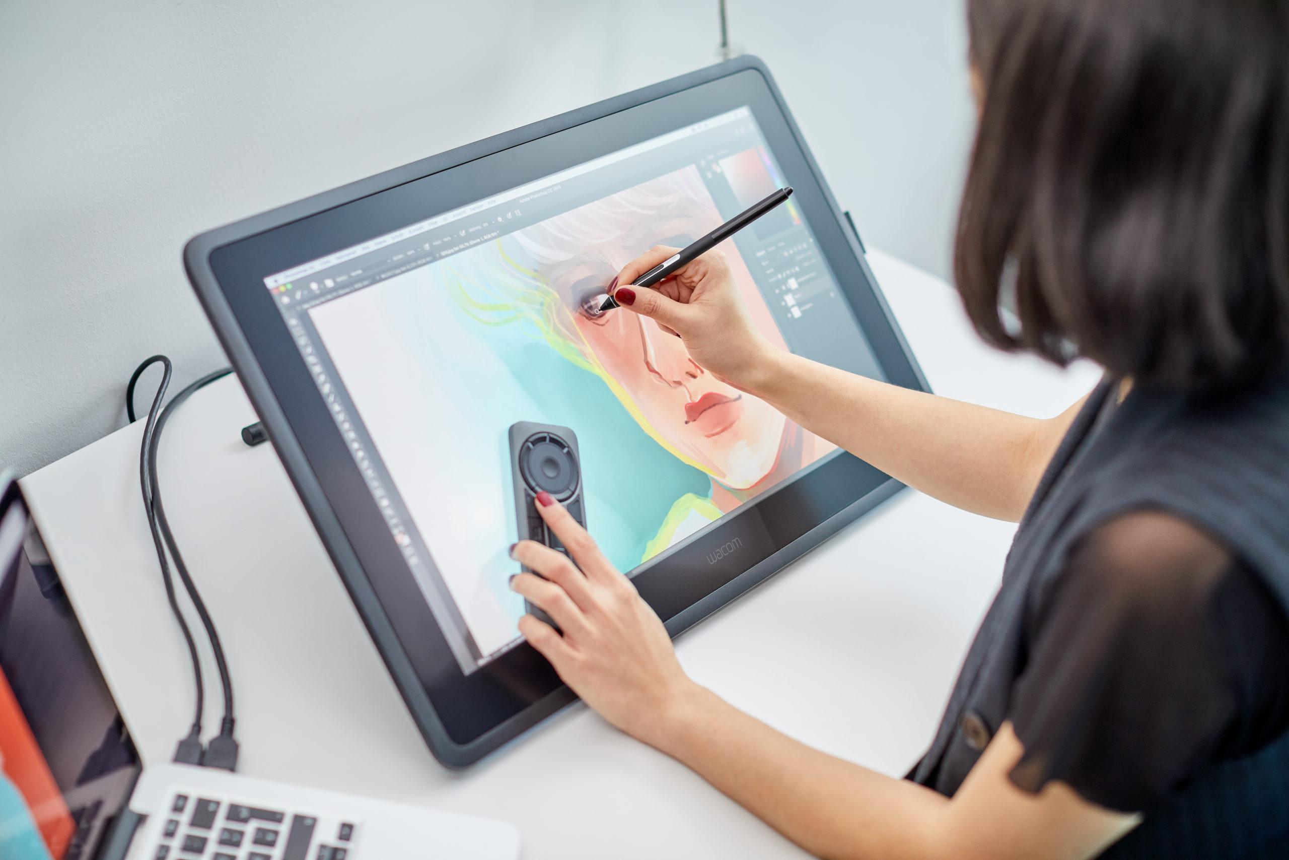 tablet graficzny ekranowy